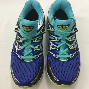 Saucony Womens Sz 9.5 Triumph ISO Running Shoes